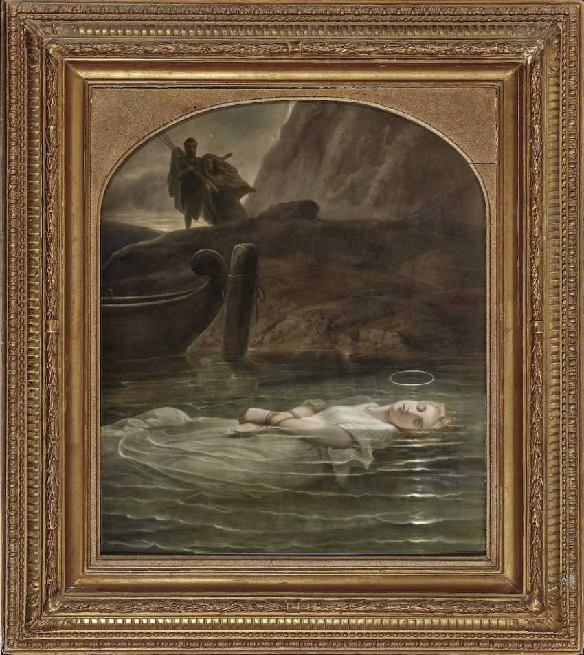 The young martyr KPM Berlin, 19th century - photo 1