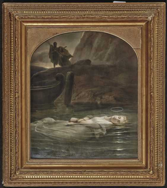 The young martyr KPM Berlin, 19th century - photo 2