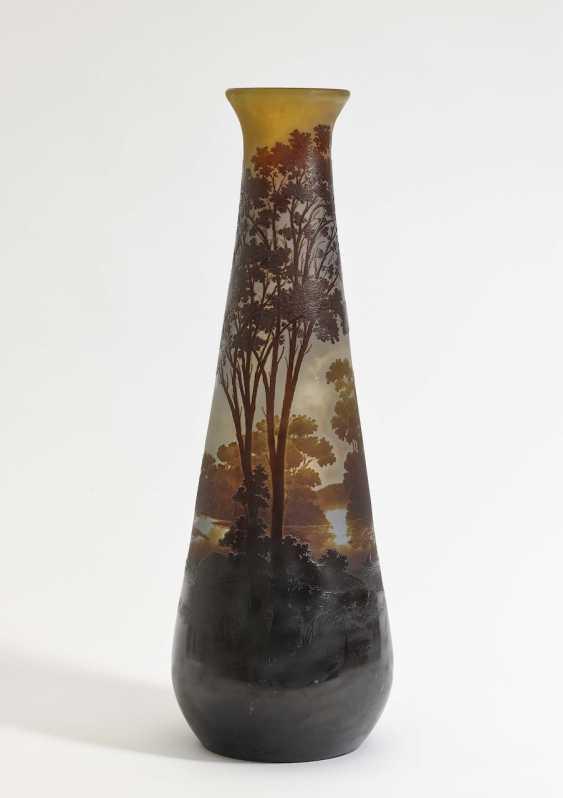 Vase Emile Gallé, Nancy, 1900-1910  - photo 1