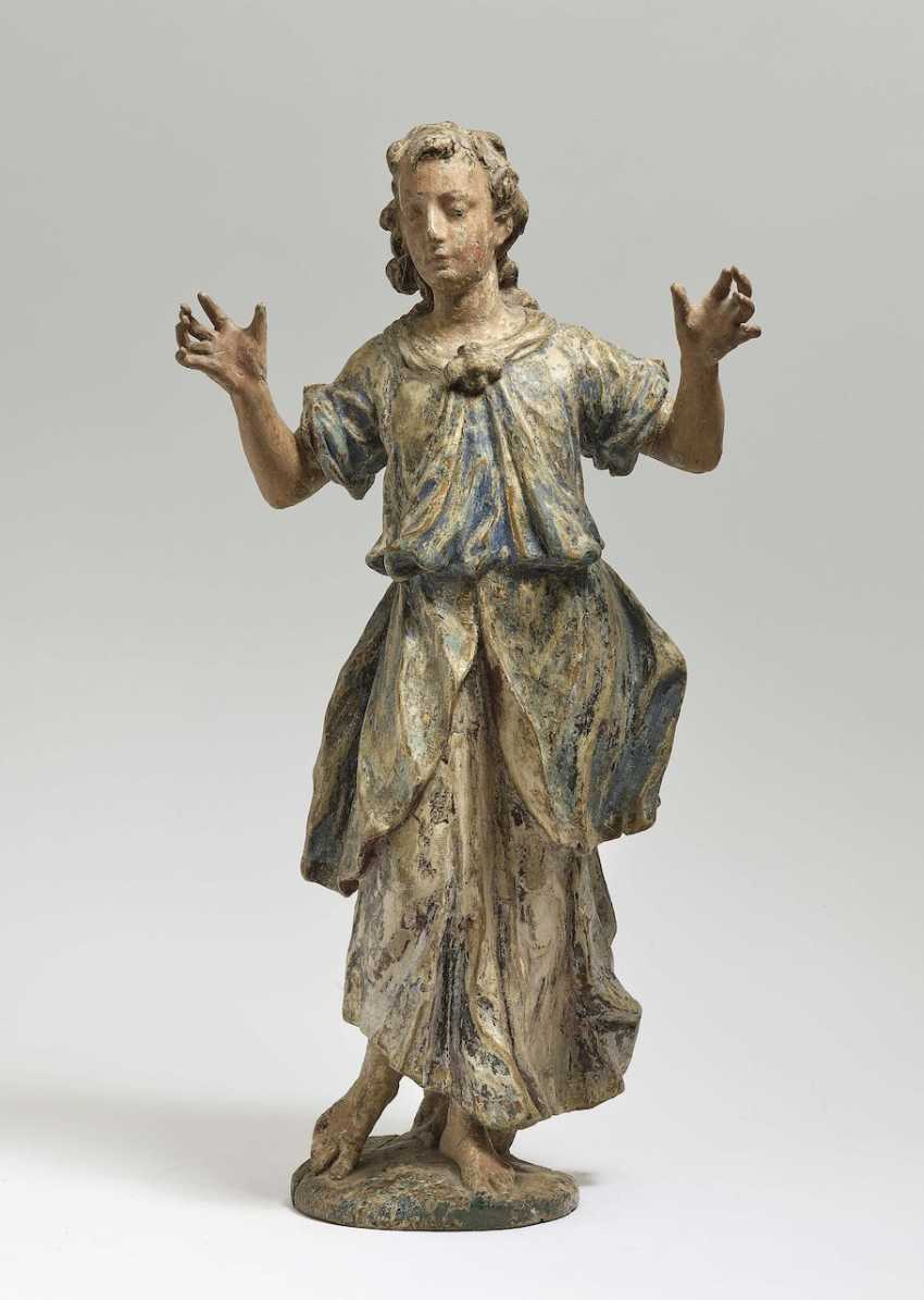 Adoration angel South German, early 18th century - photo 1