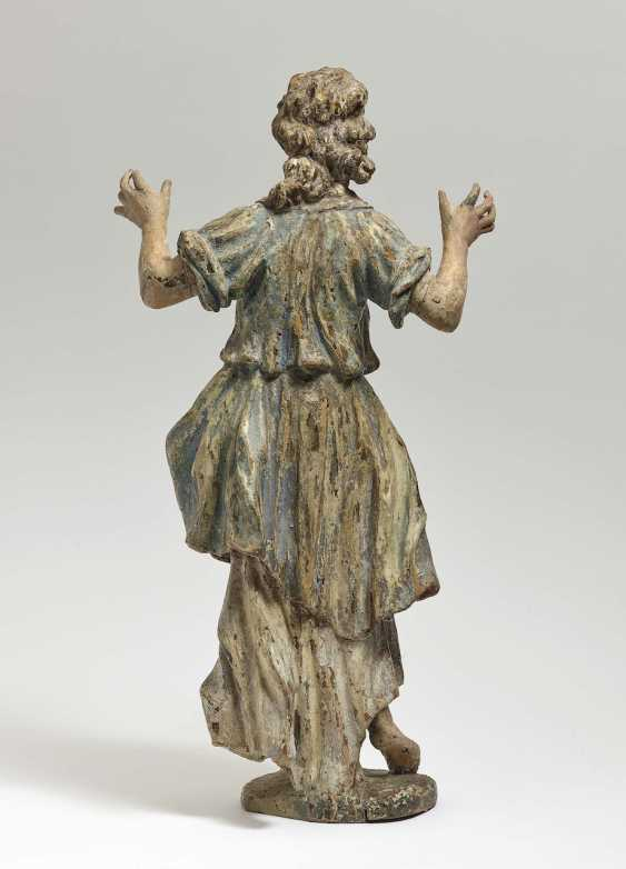 Adoration angel South German, early 18th century - photo 2