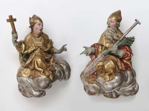 Two Holy Bishops Ignaz Franz Platzer (1717 Pilsen - 1787 Prague), circle, mid-18th century - photo 1