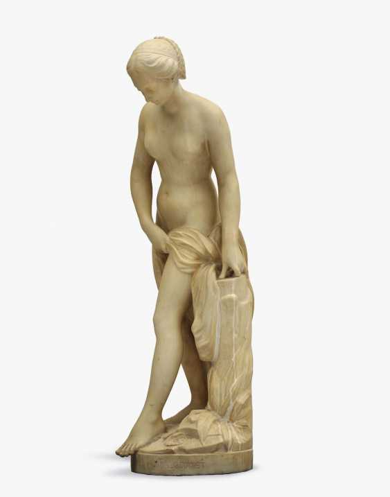 Bathers Based on the famous Etienne-Maurice Falconet sculpture in the Louvre from around 1750 - photo 2