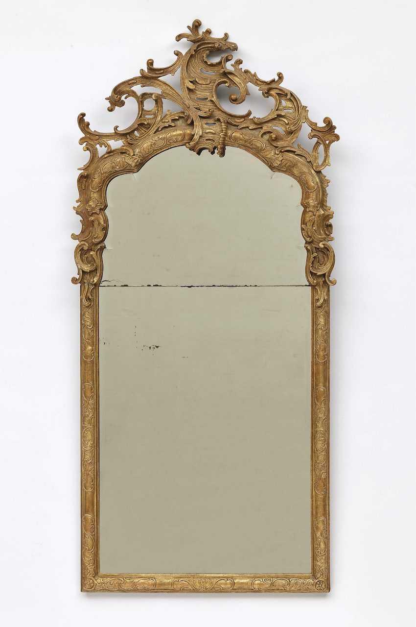 Mirror probably Würzburg (Ferdinand Hundt?), Mid-18th century - photo 1