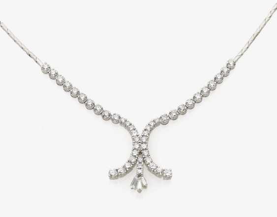 Necklace with diamonds Bonn, 1970s, VASSILIOU - photo 1