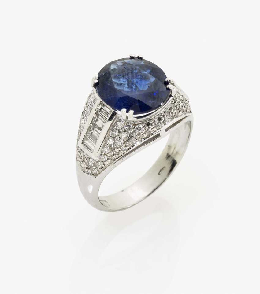 Sapphire ring Italy - photo 1
