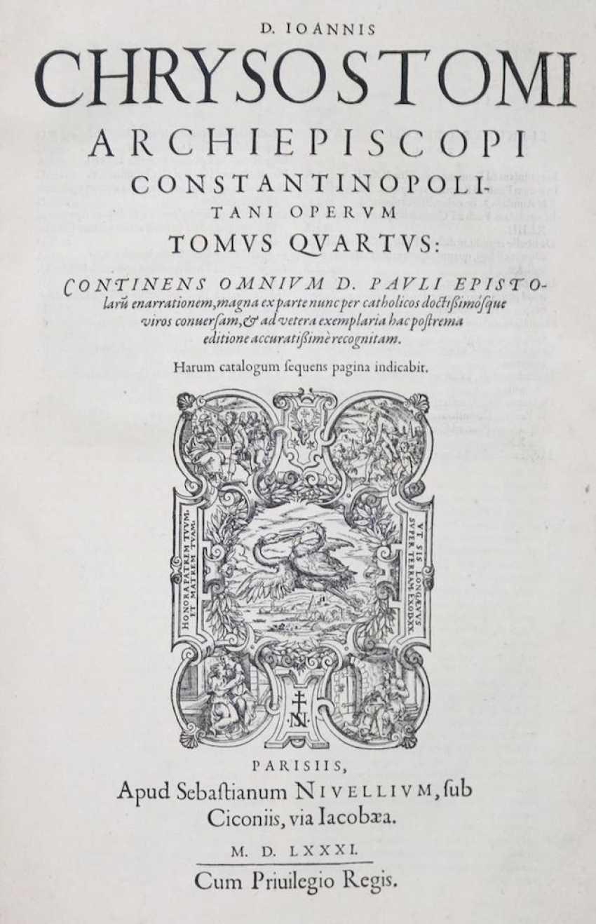 Chrysostomus, J. - Foto 2