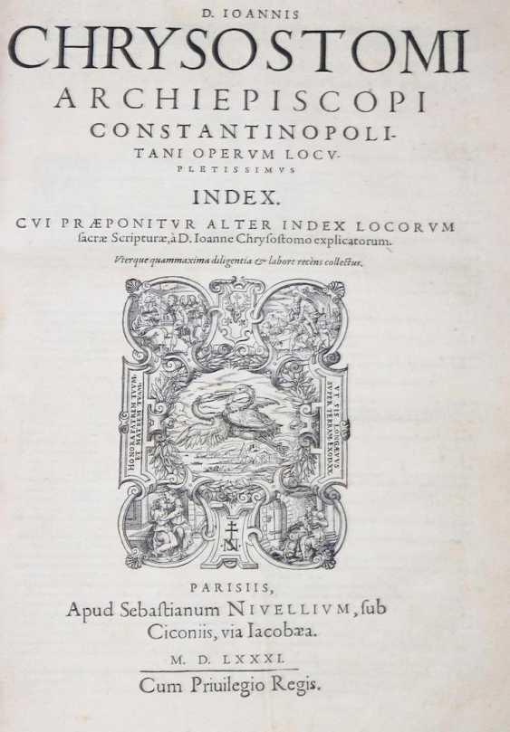 Chrysostomus, J. - Foto 3