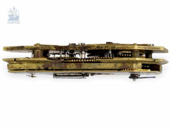 """montre de forme: muséale Émail Broche """"Tortue"""" à Horloge interne, Balancier visible et riche de Diamants, attribuée à Piguet et Capt, Geneva, circa 1810 - photo 6"""