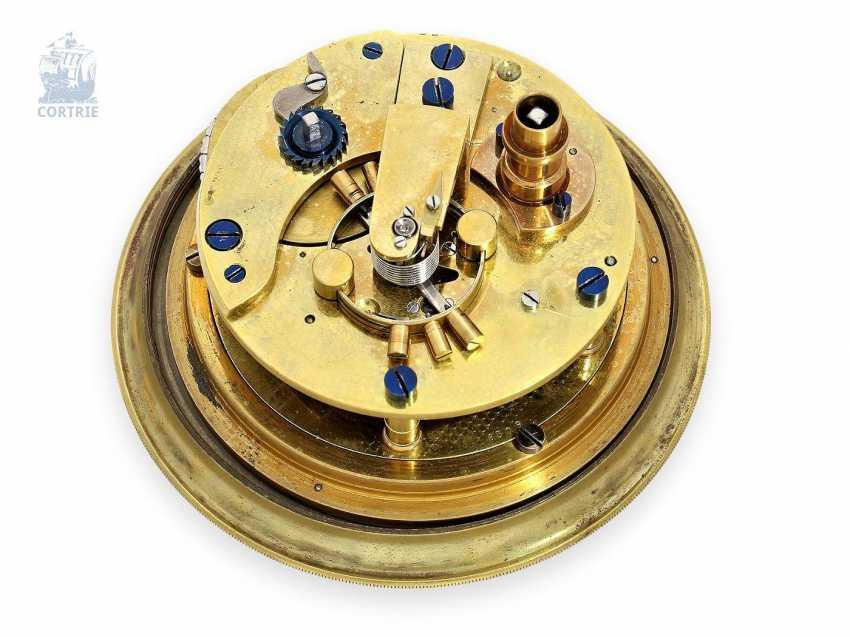 Настольные часы: крайне редкий Стол хронометров, Виктор Kullberg № 8309, хронометров созданный для создателей августа Ericsson Санкт-Петербурга № 1467, 1910. - фото 3