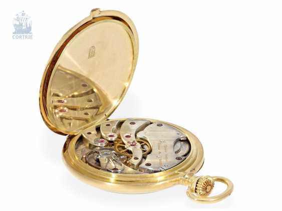 Pocket watch: very fine Ulysse Nardin Pocket chronometer with original numbered box and original certificate, CHRONOMETRE No. 18090, CA. 1920 - photo 3