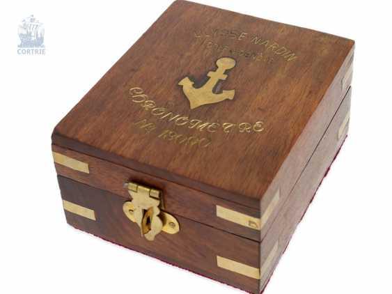 Pocket watch: very fine Ulysse Nardin Pocket chronometer with original numbered box and original certificate, CHRONOMETRE No. 18090, CA. 1920 - photo 5