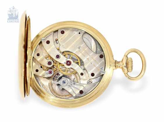 Pocket watch: very fine Ulysse Nardin Pocket chronometer with original numbered box and original certificate, CHRONOMETRE No. 18090, CA. 1920 - photo 7