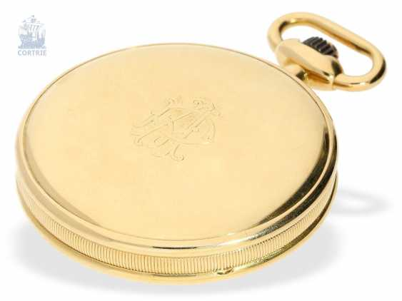 Pocket watch: fine and rare Chronometer Le Roy & Cie Chronometer de Observatoire National de Besancon with Chronograph and 30-minute Register, circa 1920, original box - photo 6