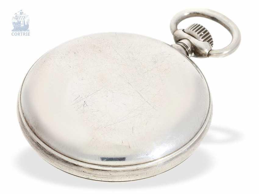 Pocket watch: a rare glashuette deck Watch, GUB No. 207753, calibre 48 Navy deck Watch, 50s - photo 4