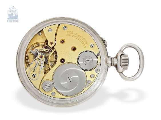 Pocket watch: a rare glashuette deck Watch, GUB No. 207753, calibre 48 Navy deck Watch, 50s - photo 5