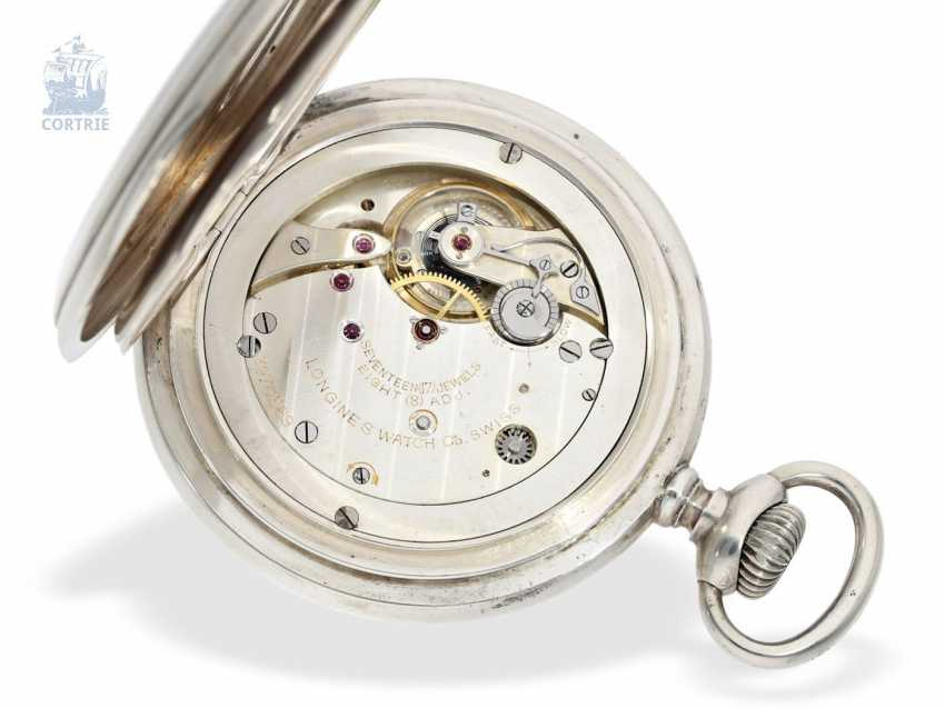 Pocket watch/clock: rare Longines Observation chronometers for the U.S. Navy, equipped with the high-grade precision-calibre 21.29, CA. 1920 - photo 3