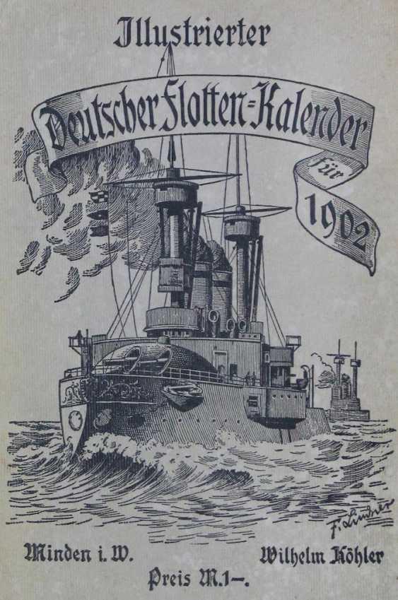 Köhler's Illustrated German Fleet Calendar - photo 1