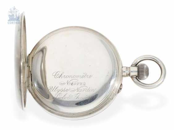 "Pocket watch: extremely rare Observation chronometers, Ulysse Nardin, Locle & Genève, ""Chronometre"", No. 19772, circa 1925 - photo 3"