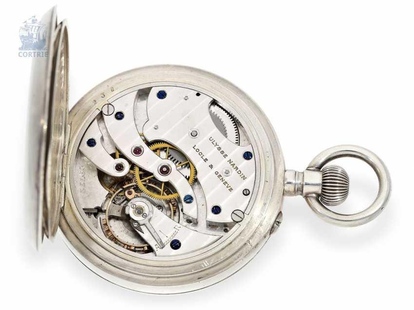 "Pocket watch: extremely rare Observation chronometers, Ulysse Nardin, Locle & Genève, ""Chronometre"", No. 19772, circa 1925 - photo 4"