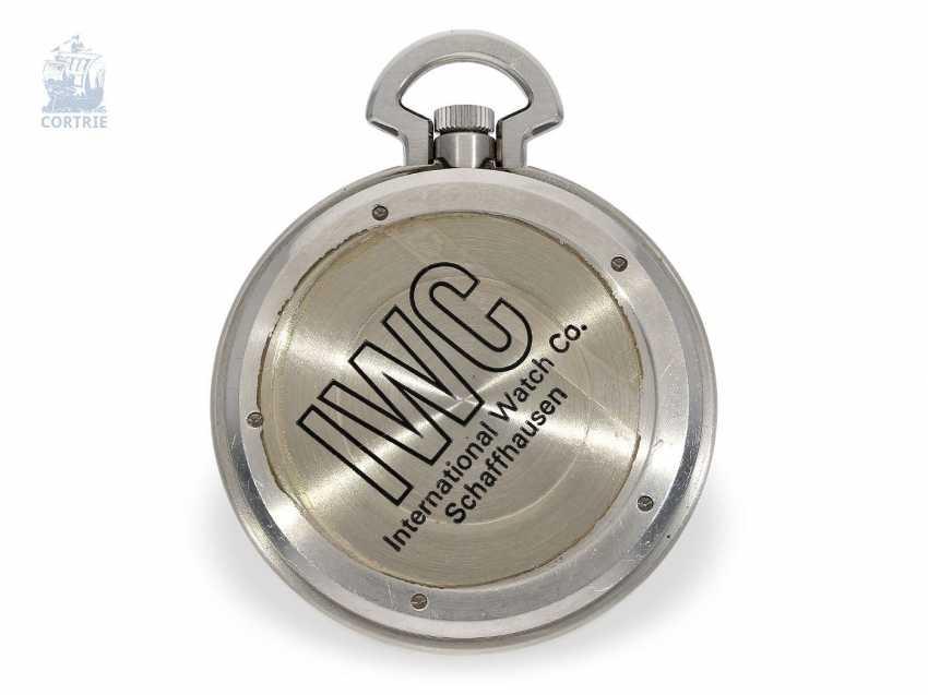 """Pocket watch: extremely rare IWC Schaffhausen """"Ingenieur SL"""", Ref. 5215, Cal. 9520, CA. 1985 - photo 2"""