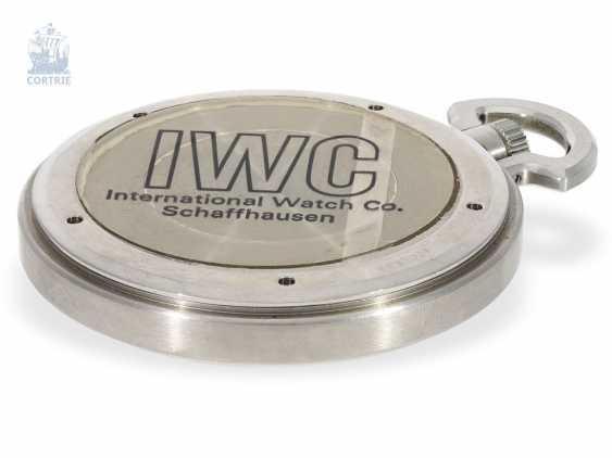"""Pocket watch: extremely rare IWC Schaffhausen """"Ingenieur SL"""", Ref. 5215, Cal. 9520, CA. 1985 - photo 4"""