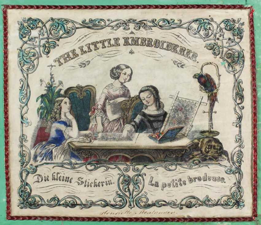 Little Embroiderer, The. - photo 1