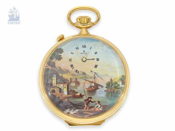Pocket watch with Musical movement, alarm and concealed erotic automaton Romance, Fa. Reuge Swiss 20. Century - photo 4