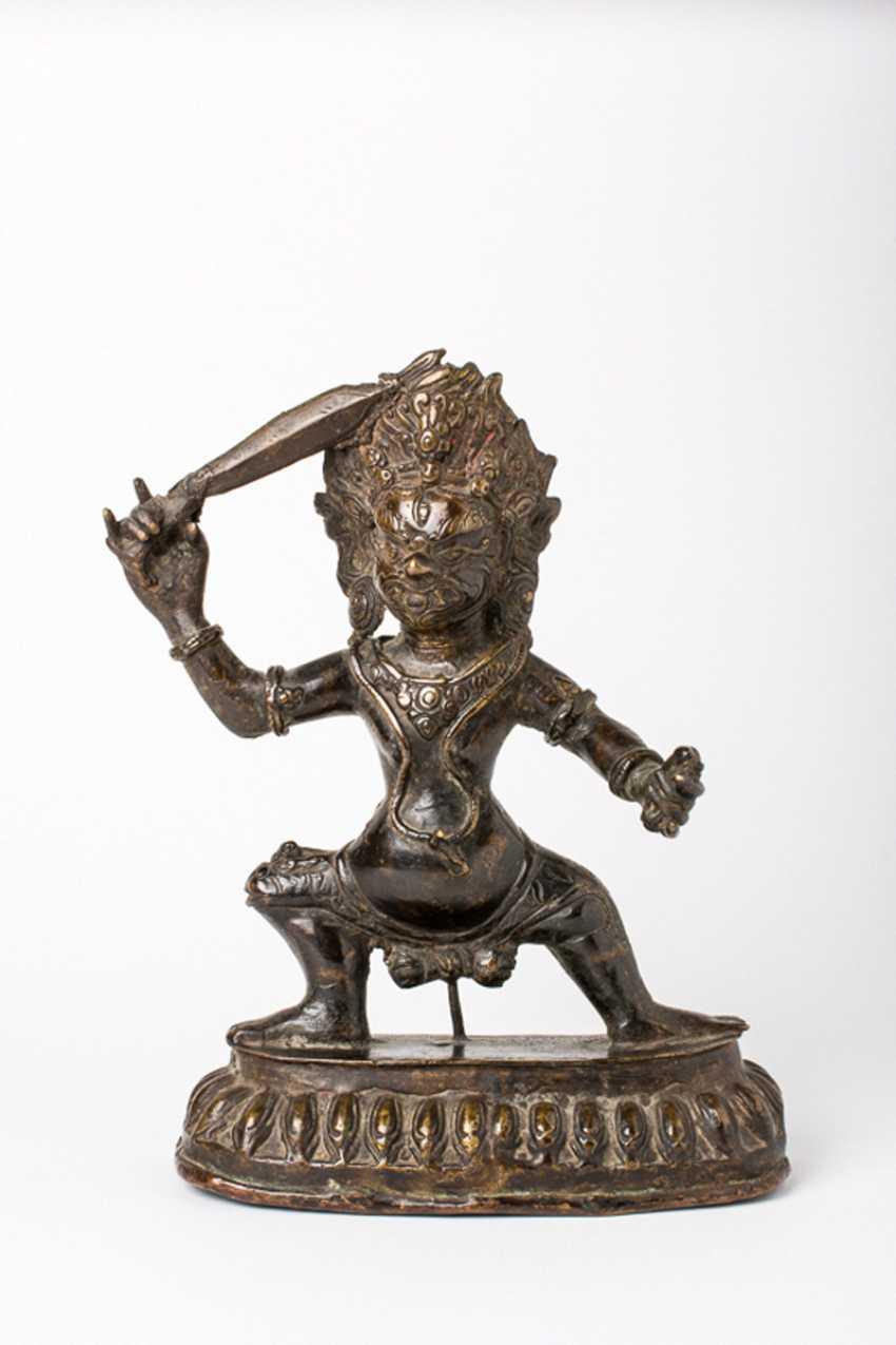 Tibeto-chinesische Gottheit - photo 1