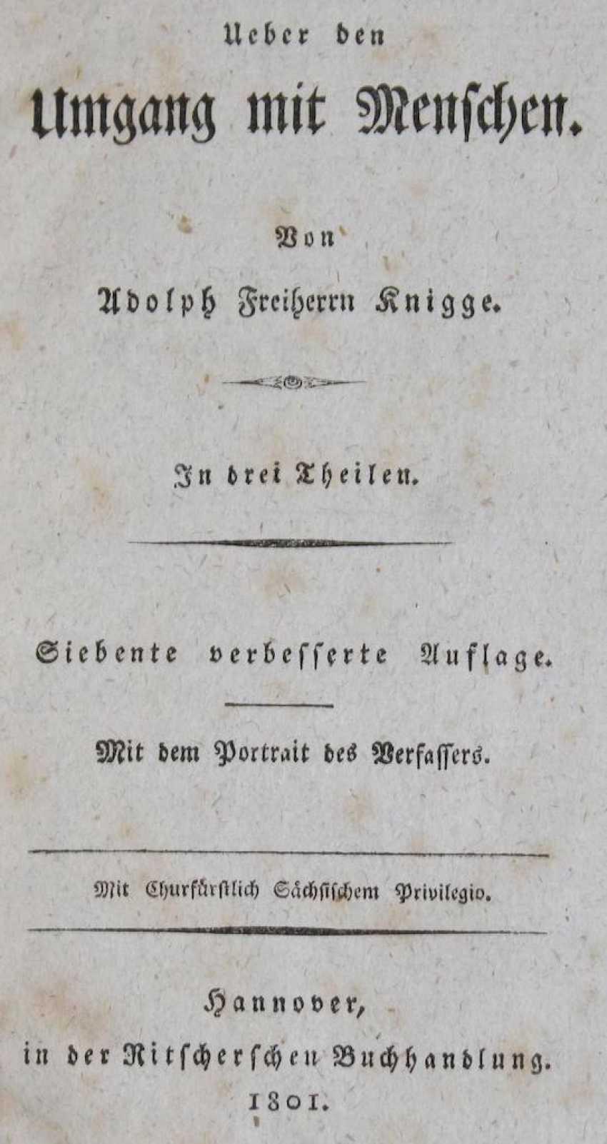 Knigge, A.v. - photo 1