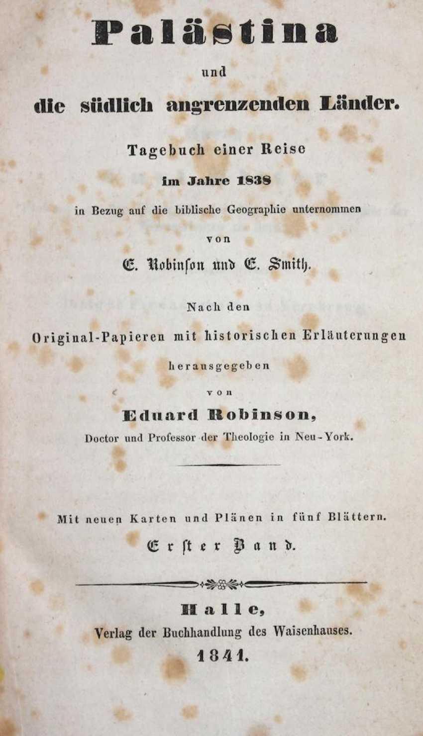 Robinson, E. u. E.Smith - photo 1