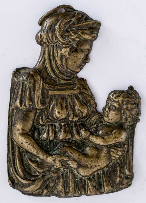 The mother of God and child - photo 1