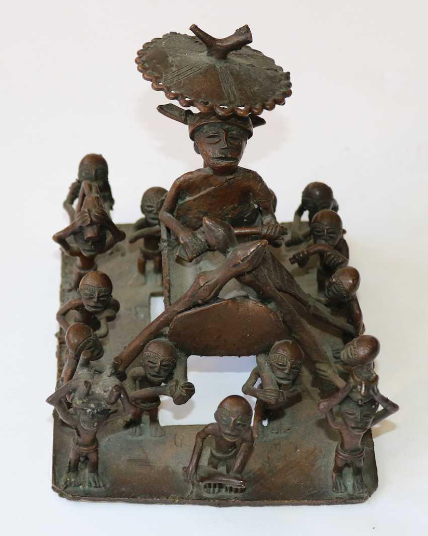 Dogon Mali 3 Bronzen - photo 2