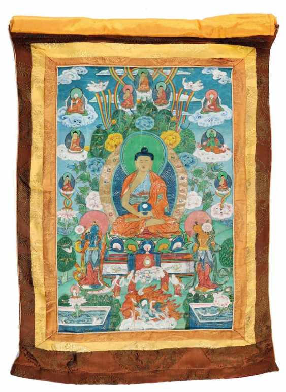 Thangka des Buddha - photo 1