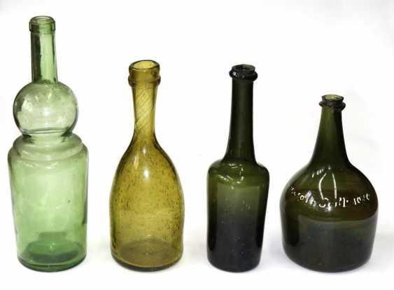 10 Hohlglasflaschen - Foto 1