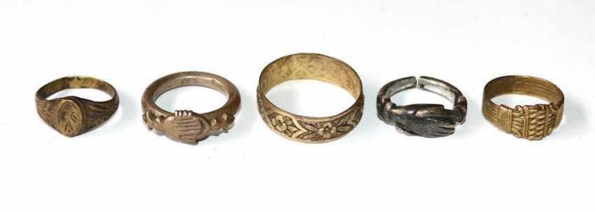 Antike Ringe - photo 1