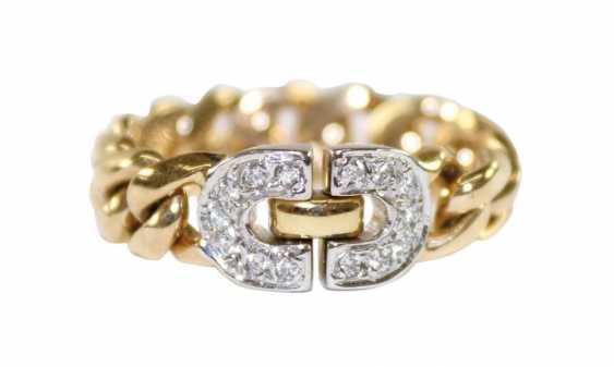 Kettenring Diamant 585 Gelbgold. - photo 1