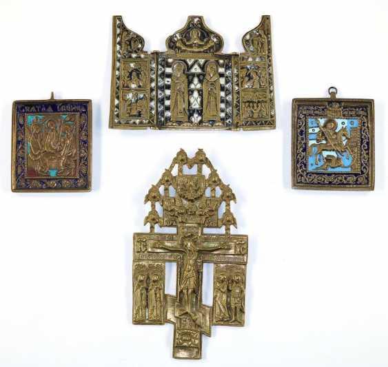 3 Reiseikonen u. orthodoxes - photo 1