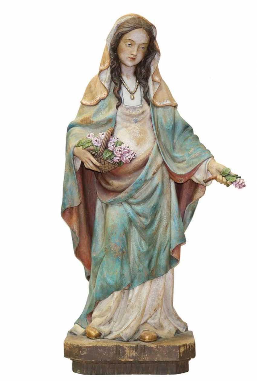 Heilige mit Blumen - photo 1