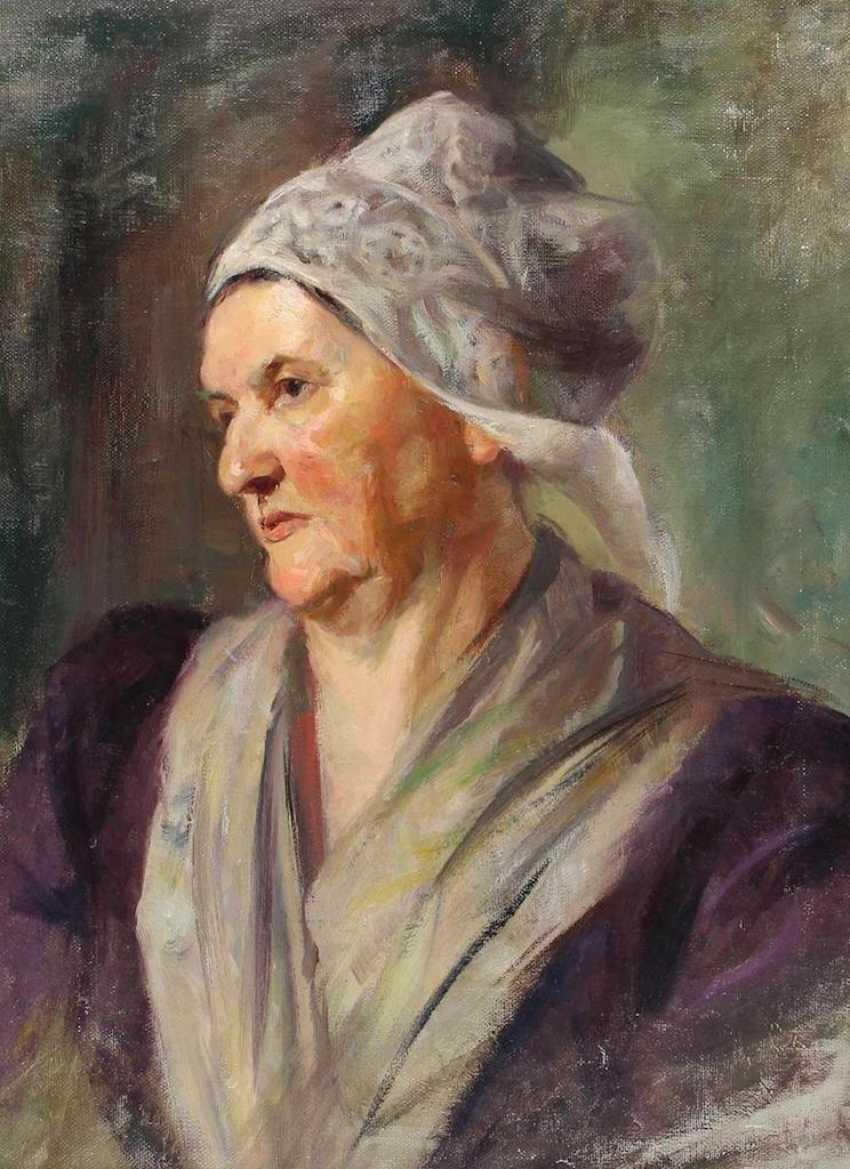 Portrait of a lady. - photo 1