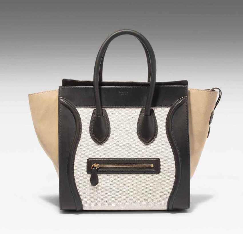"""Céline, sac à main """"Luggage"""" - photo 1"""