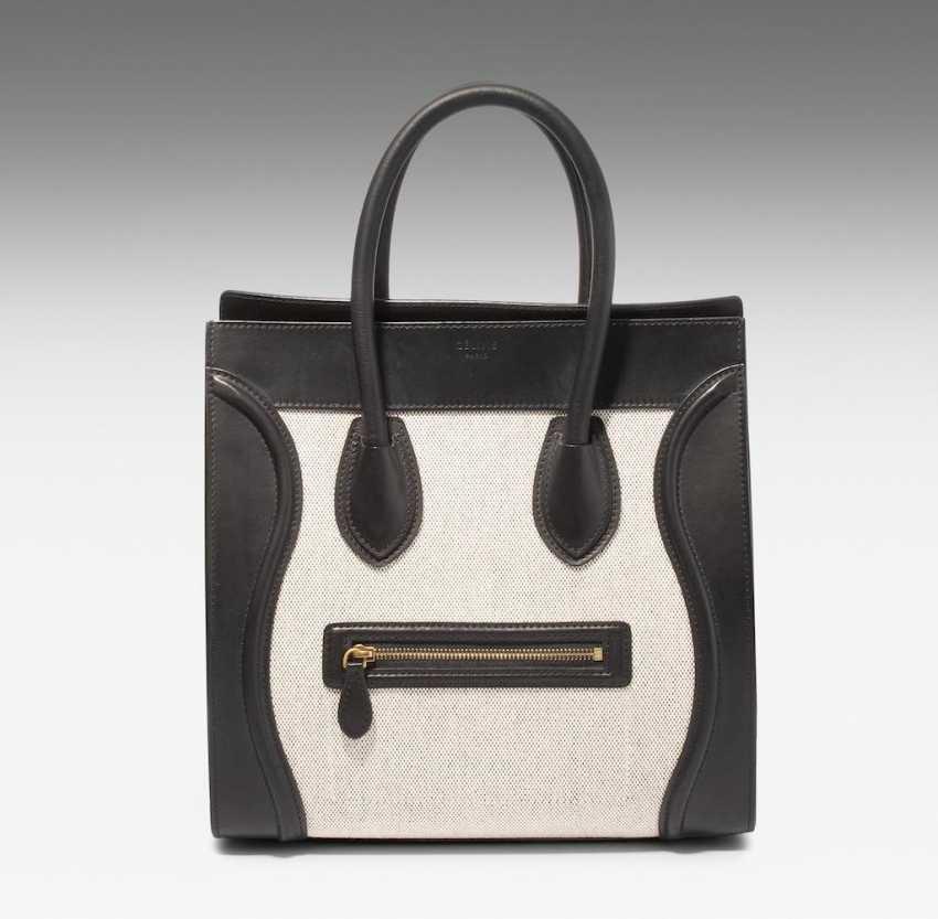 """Céline, sac à main """"Luggage"""" - photo 2"""