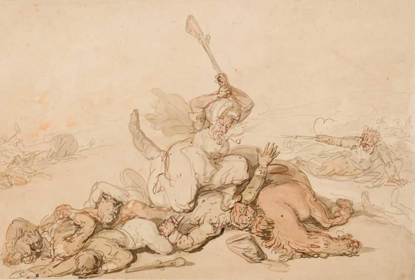 Thomas Rowlandson (1756 - 1827), attributed to - photo 1