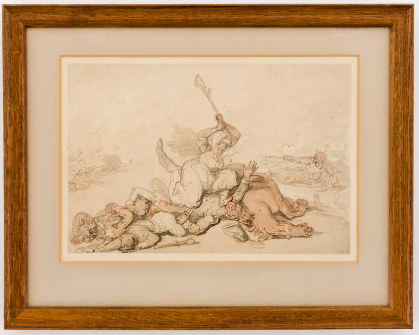 Thomas Rowlandson (1756 - 1827), attributed to - photo 2