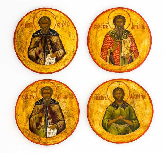 Hl. Sergius of Radonesh, Hl. Antipas, Hl. Macarius of Zelty Vody, Hl. Alexius of Edessa - photo 1