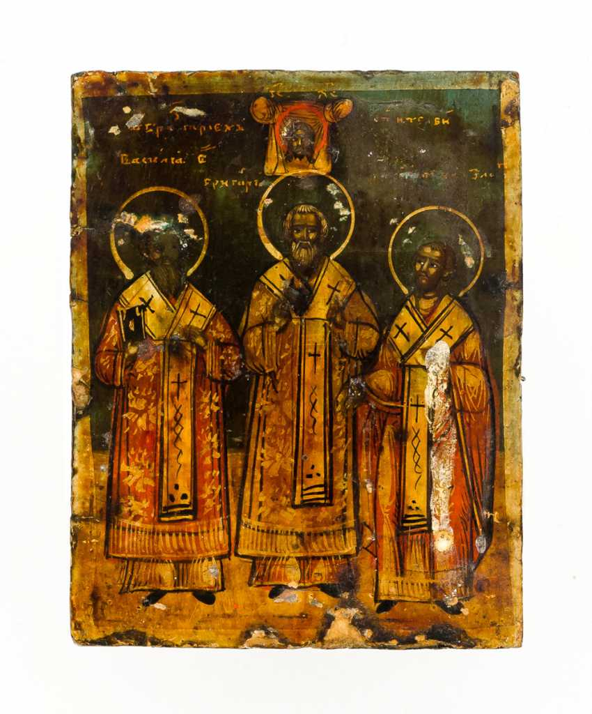 The three hl. Hierarchs - photo 2