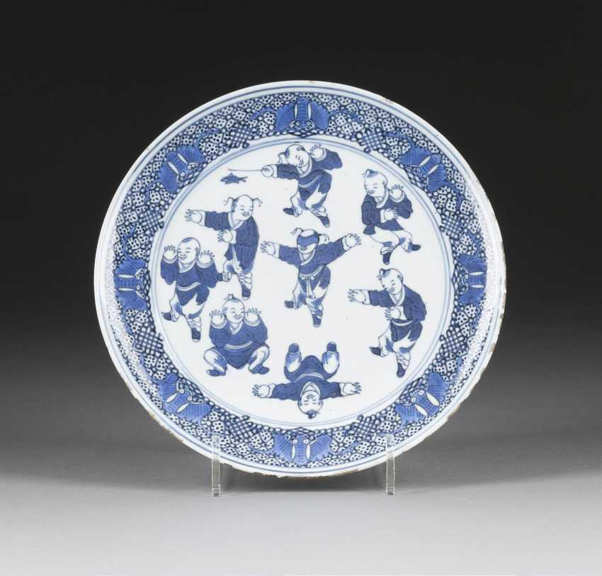PLATE WITH 'HUNDRED BOYS'PATTERN - photo 1