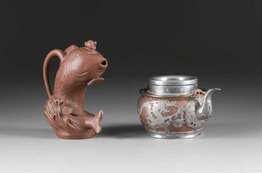 TWO TEAPOTS AND A COUPLE OF BOXES - photo 1