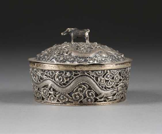 LIDDED BOX WITH GLASS INSERT - photo 1