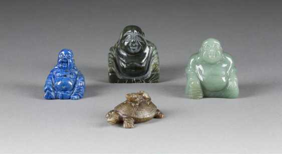 THREE REPRESENTATIONS OF THE MILE-FO, AND TURTLE PENDANT - photo 1